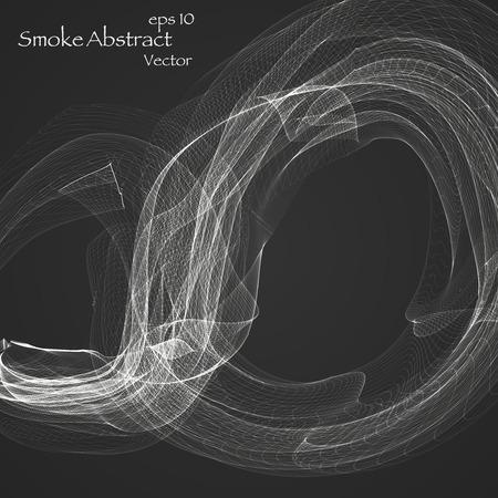 abstract smoke: Humo abstracto eps 10 Vectores