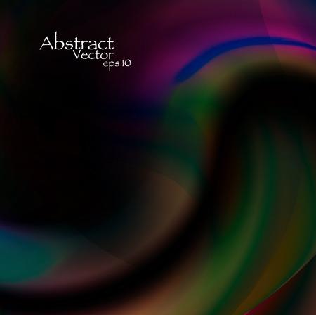 flux: Abstract dark background eps10