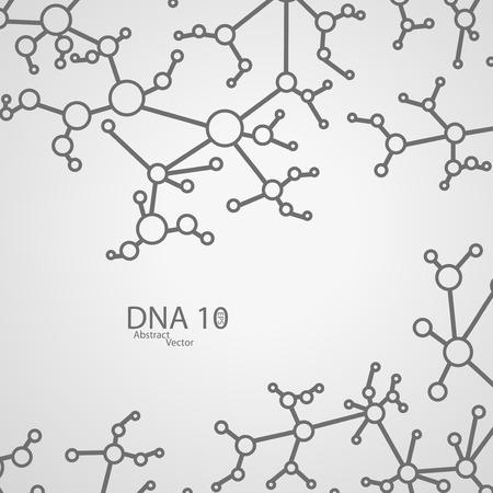 deoxyribose: Futuristic dna eps 10