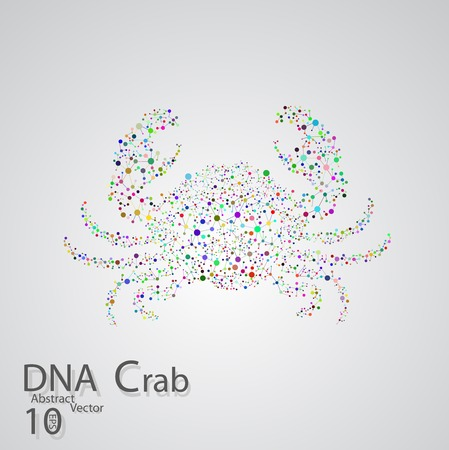 encoded: Molecular structure in the form of crab