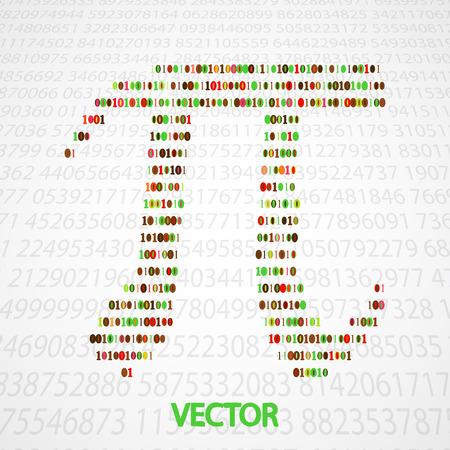 circumference: Pi Numbers shape