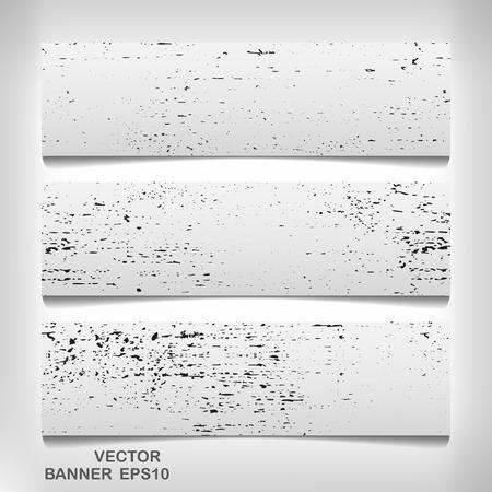 grungy header: Texture banner for your design , vector elegant illustration