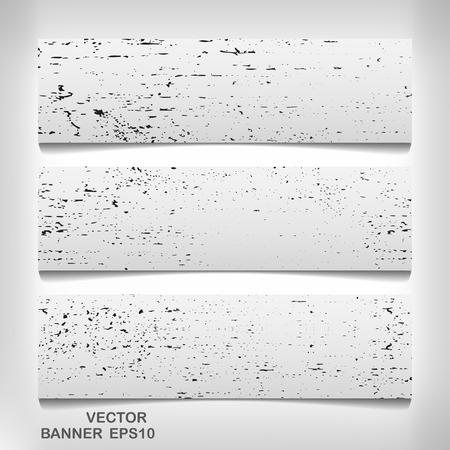 grungy header: Texture banner for your design, vector elegant illustration