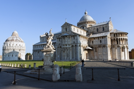 View of Piazza dei Miracoli Pisa photo