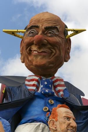 viareggio: Viareggio Carnival Caricature of Berlusconi