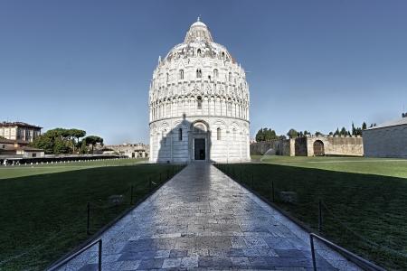Baptistery Piazza dei Miracoli Pisa Stock Photo - 10496597