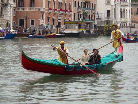 Historical Regatta of Venice Italy september 2011