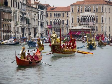 turism: Regatta of Venice Italy september 2011 Editorial
