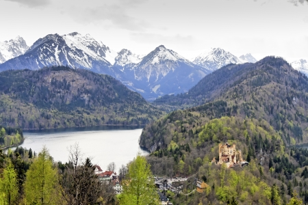 Landscape of Bavaria Germany