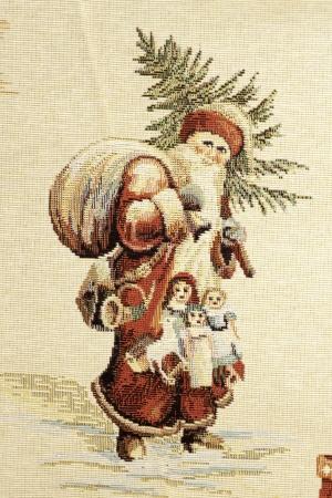 Christmas towel Stock Photo
