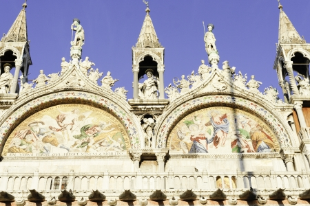 vacance: Basilica di San Marco; particolare facciata