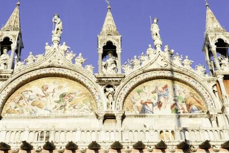 vacance: Basilica San Marco; facade particular