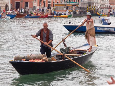 VENICE - SEPTEMBER 4 :  parade of historic boats held on September 4, 2011