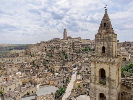 matera: landscape of Matera, Basilicata Italy