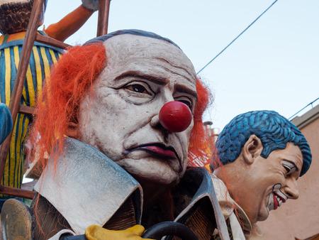 viareggio: VIAREGGIO, ITALY - March 12:   allegorical float  at Viareggio Carnival held March 12, 2016
