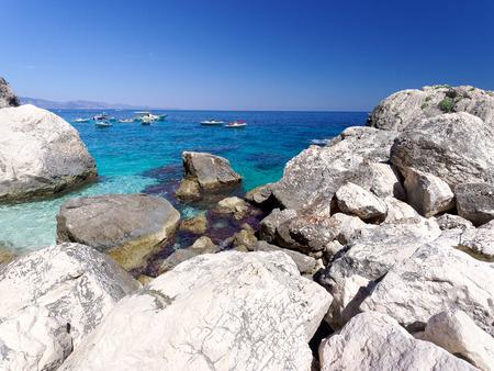 Landscape of Cala delle Sorgenti Sardinia Italy