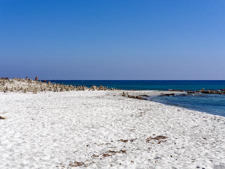 Landscape of Cala Berchida Sardinia Italy Stock Photo
