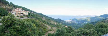 Beatiful landscape of Elba Island Tuscany Italy Stock Photo