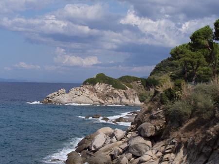 Beatiful landscape of Elba Island Tuscany Italy Island Italy