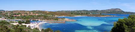 Beatiful Landscape of Sardinia Island Italy Stock Photo