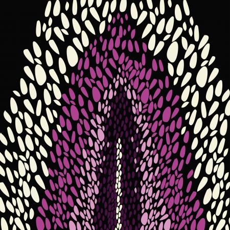 couleur de peau: Mod�le abstrait avec des �l�ments color�s