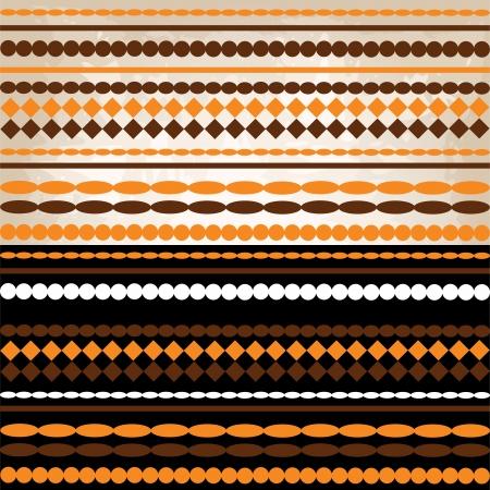 reapeating: Seamless retro geometric pattern