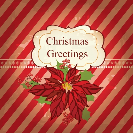 x mas: Christmas greeting card