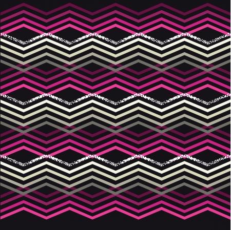 cotton wool: Seamless geometric pattern Illustration