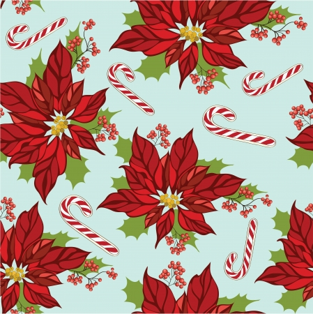 Seamless christmas pattern Stock Vector - 16855373
