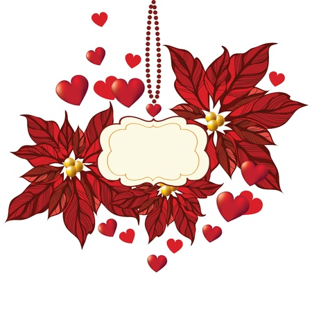 Romantic  background, Valentine's Day Stock Vector - 17087064