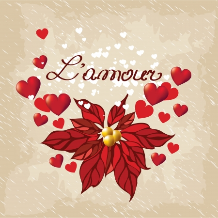 Romantic  background, Valentines Day Vector