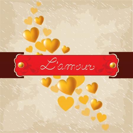 Romantic  background, Valentine's Day Stock Vector - 17087070