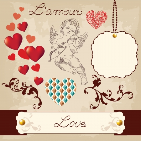 Valentine's Day Love Set Vector