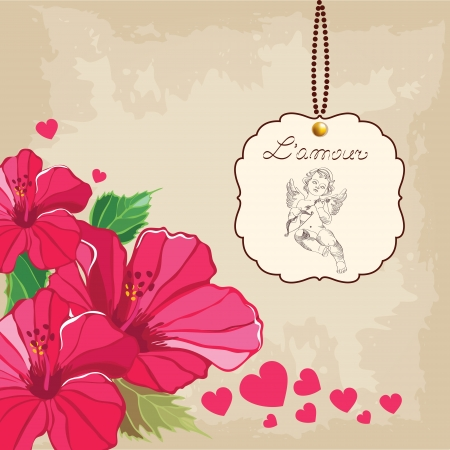 Valentine s Day, Love background Vector