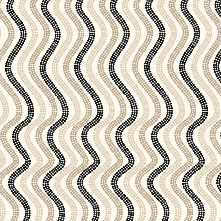 Polka dot pattern, geometric  background Illustration