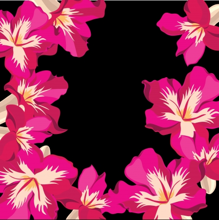 Floral pattern with hibiscus  Stock Vector - 18528083