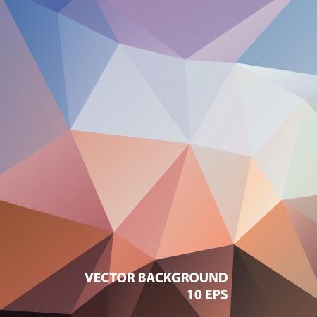 cubismo: Geom?trico colorido patr?n de fondo vector