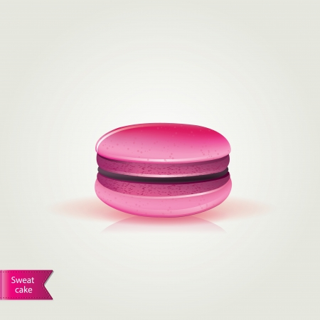 Sweet macaroons.Vector illustration. Vector