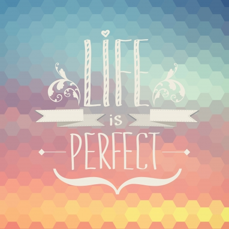 a place of life: Summer poster Typography illustration