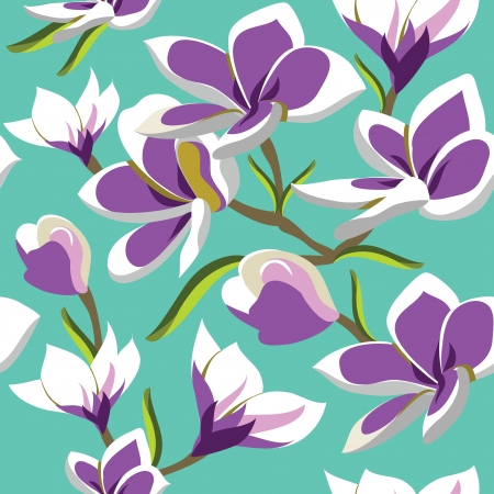 daisy flower: Floral seamless pattern with beautiful flowers, hand-drawing. Vector illustration. Illustration