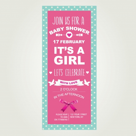 shower: Baby shower It s a girl