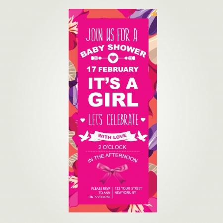 it girl: Baby shower It s a girl