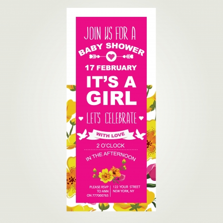 it s a girl: Baby shower It s a girl