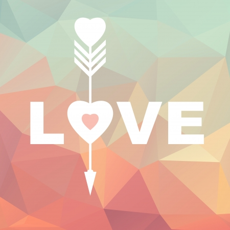 LOVE words Vector