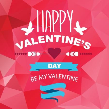 happy valentines: Valentine Illustration