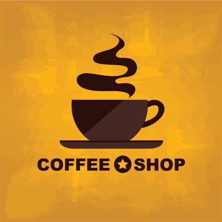brewed: Coffee shop icon menu Illustration
