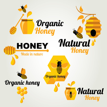 honey pot: Set Honey badges and labels