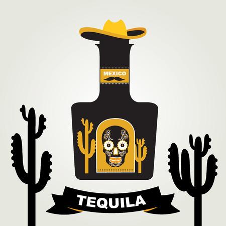 tequila: Tequila menu design