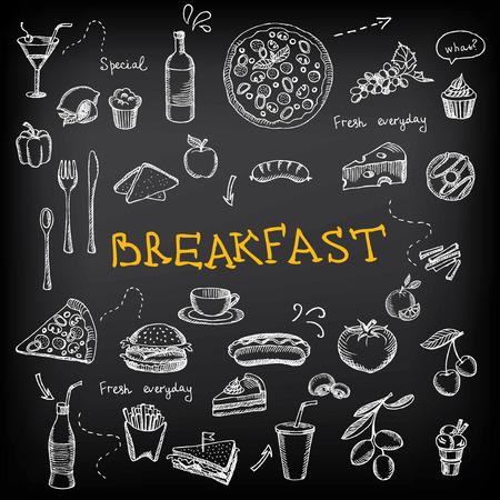Restaurant cafe menu, template design. Imagens - 31730831