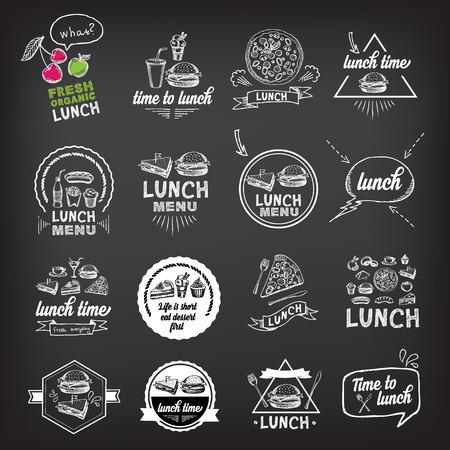 ランチ メニュー、レストランのデザイン。